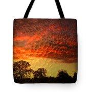 Embossed Sunrise Tote Bag