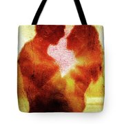 Embrace Tote Bag by Andrea Barbieri