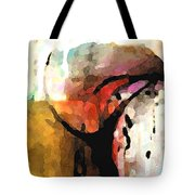 Embracing Secrets Panel One Of Two Tote Bag