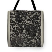 Embroidered Lace Tote Bag
