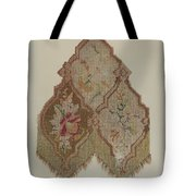Embroidered Table Scarf Tote Bag