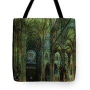 Emerald Arches Tote Bag