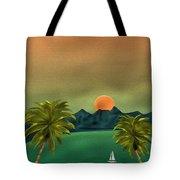Emerald Bay Tote Bag