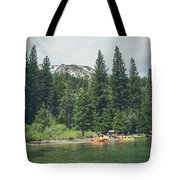 Emerald Bay Tote Bag by Margaret Pitcher