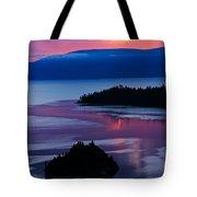 Emerald Bay Sunrise Portrait Tote Bag