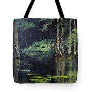 Emerald Bayou Tote Bag