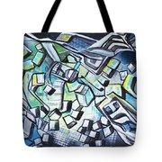 Emerald Chasms Tote Bag