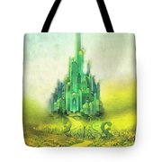 Emerald City Tote Bag by Mo T