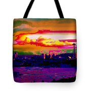 Emerald City Sunset Tote Bag