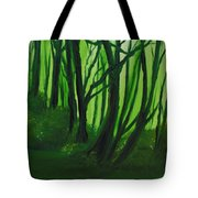 Emerald Forest. Tote Bag by Cynthia Adams