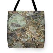 Emerald Green Granite Tote Bag