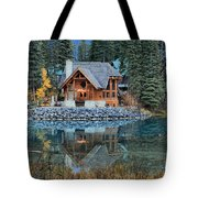 Emerald Lake Cilantro Tote Bag