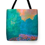 Emerald Mist Tote Bag