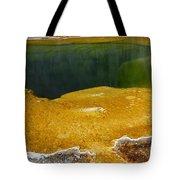 Emerald Pool Yellowstone National Park Tote Bag