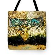 Emerald Ripples Tote Bag