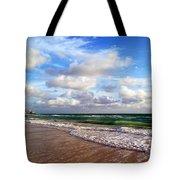Emerald Seas Tote Bag