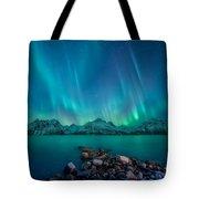 Emerald Sky Tote Bag