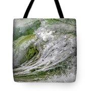 Emerald Storm Tote Bag