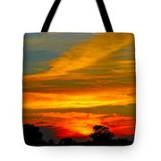 Emerald Sunset Tote Bag