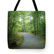Emerald Trail Tote Bag