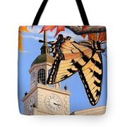 Emergence Of The Butterfly Tote Bag