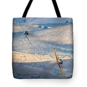 Emerging From The Valley Of Speed 16 X 9 Aspect Signature Edition Tote Bag
