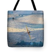 Emerging From The Valley Of Speed 5 X 7 Aspect Tote Bag
