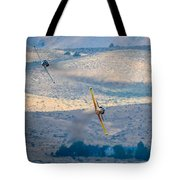 Emerging From The Valley Of Speed Tote Bag