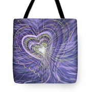 Emerging Heart Tote Bag