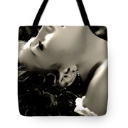 Emersed In The Moment Tote Bag