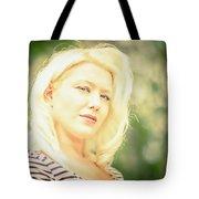 Emily #1 Royal Holden Tote Bag