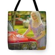 Emily #2 Royal Holden Tote Bag