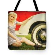 Emily #5 Royal Holden Tote Bag