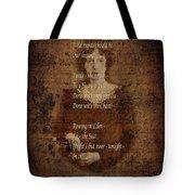 Emily Dickinson 4 Tote Bag