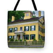 Emily Dickinson House Tote Bag