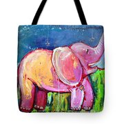 Emily's Elephant 2 Tote Bag