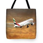 Emirates Boeing 777-36n 2 Tote Bag