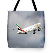 Emirates Boeing 777-36n 5 Tote Bag