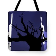 Emirates Tower Abstract Tote Bag
