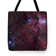 Emission Nebula Ngc 6188 Star Formation Tote Bag