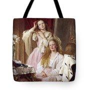 Emma And Federica Bankes Of Soughton Hall  Tote Bag