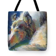 Emmies Beauty Sleep Tote Bag by Kimberly Santini