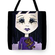 Emo Girl IIi Tote Bag