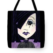 Emo Girl Iv Tote Bag