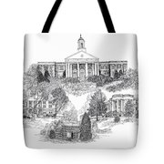 Emory And Henry College Tote Bag