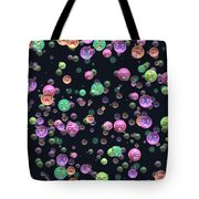 Emoticon Plastic Faces Tote Bag