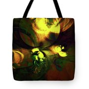 Emotion In Light Abstract Tote Bag