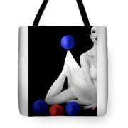 Emotionally Numb - Self Portrait Tote Bag