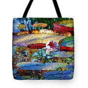 Emotions Of Color Light And Texture Tote Bag