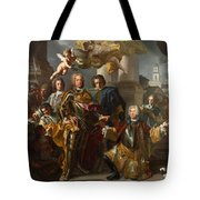 Emperor Charles Vi And Gundacker, Count Althann Tote Bag